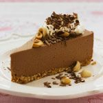 Recipe for Chocolate and Roasted Hazelnut Cheesecake