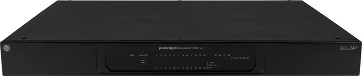 "Pakedge S3 Series Switches from Control4 are Engineered for Avnu, Dante, Q-LAN - ""The newly announced S3 Series of network switches from Pakedge, a Control4 brand, provides integrators with a choice of layer 2 and layer 3 solutions."" - Robert Archer, Commercial Integrator"
