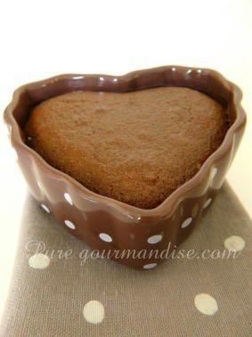 Fondants au coeur coulant de Nutella - www.Puregourmandise.com
