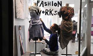 A Fashion Workshop pop-up in Blackburn.