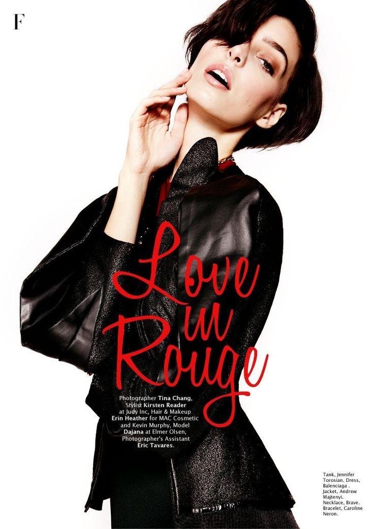 Love in Rouge - Factice Magazine