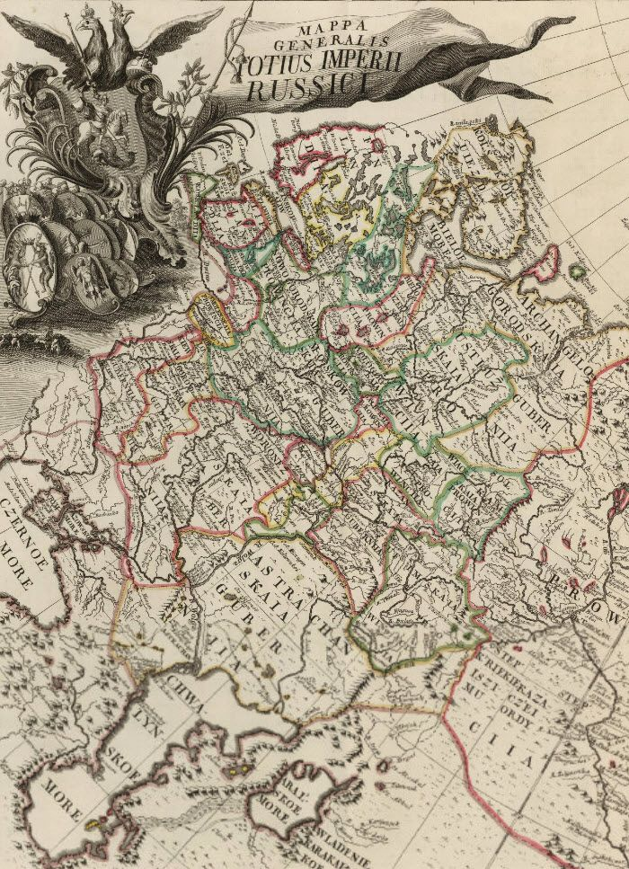 First Atlas of Russia (1745)