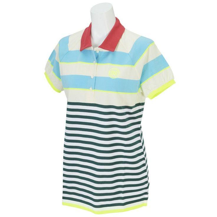 スーピママッシュ天竺 半袖ポロシャツ 055-160570 レディス パーリーゲイツ PEARLY GATES GDOアウトレット