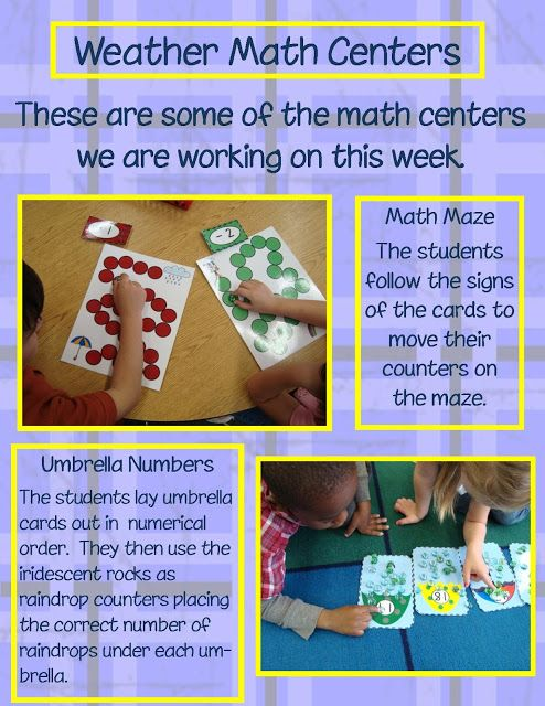 This is a linkfor the Math Centers on TPT   Posted by Deeanna at 1:58 PM 9 comments  Email This BlogThis! Share to Twitter Share to Facebook  Labels: Math Centers Tuesday, February 7, 2012  Weather Math Centers
