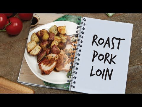 Power AirFryer XL Roasted Pork Loin and Potatoes Recipe - YouTube