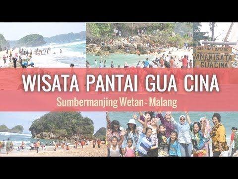 Wisata Pantai Gua Cina Sumbermanjing Wetan - Malang  hariesdesign.com