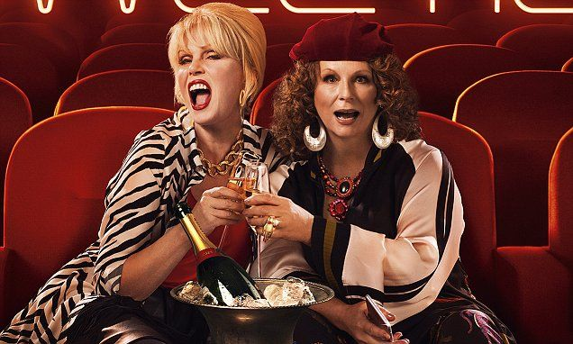 Absolutely Fabulous's Patsy and Eddie clear the cinema in first ...