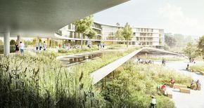 hospitales modernos arquitectura - Buscar con Google