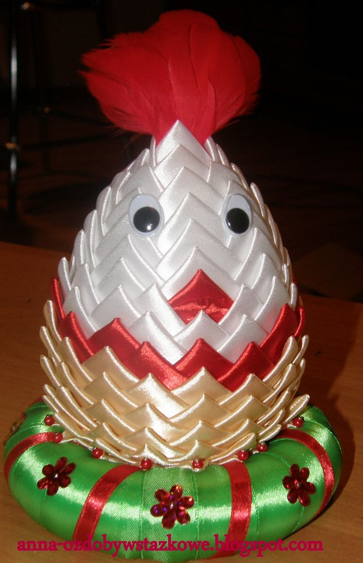 Quilled egg