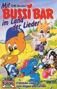 Bussi Bär: Mit Bussi Bär Im Land Der Lieder - Cover