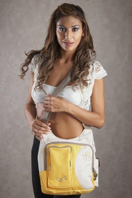 Liliano SE30E geel Deborah tassen double7 tassen-mode-nieuws