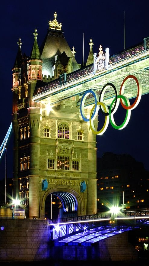 Beautiful View Of The Olympic Rings