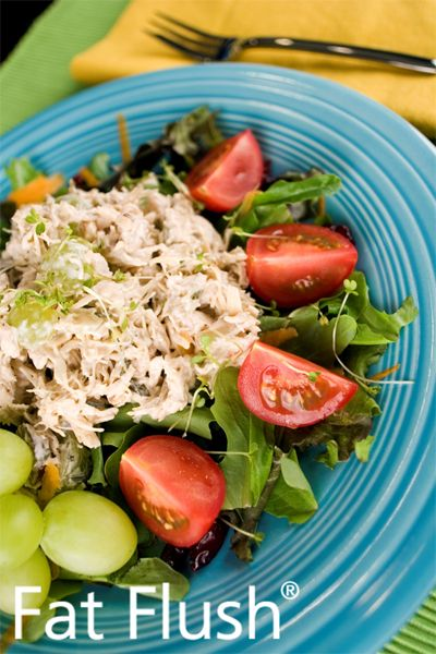 Chicken Salad- Official Fat Flush Recipe