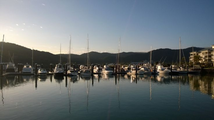 Airlie Beach #whitsundays #thisisqueensland #winter #morning in the #tropics