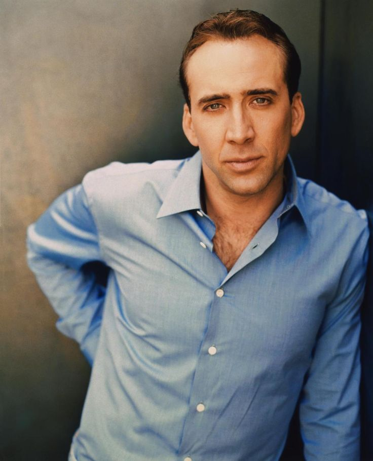 Nicolas Cage Oh my goodness.... Yummy!