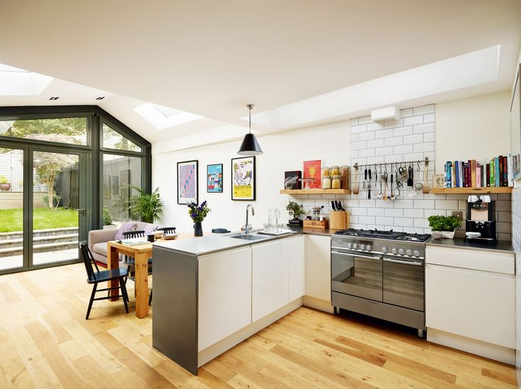 Creating A Large Family Home With An Open Plan Kitchen Extension And Loft  Conversion. Part 79