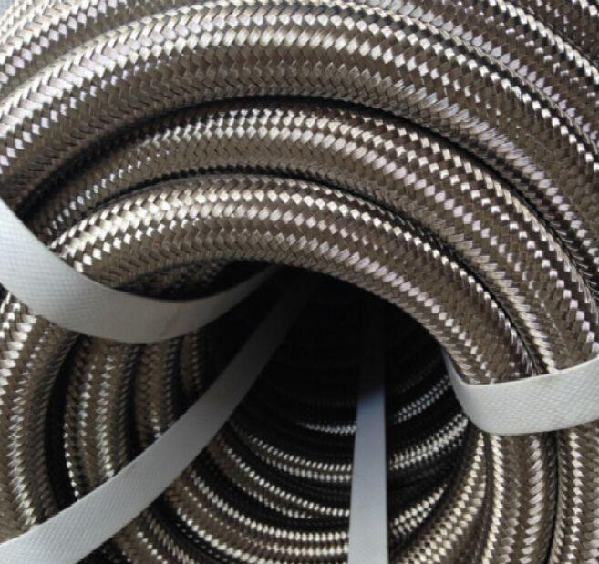 China supplier SAE R14 ss braided PTFE teflon hose