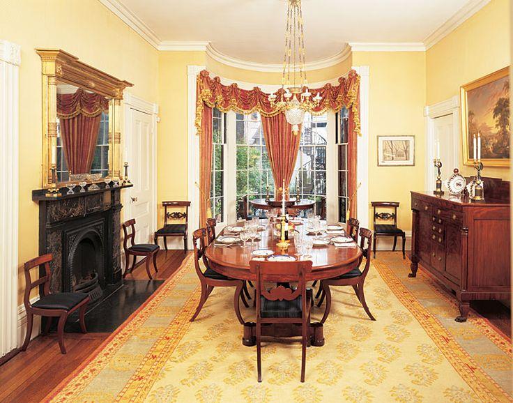 Chapter 5 - American Greek Revival Interior   Leslie's