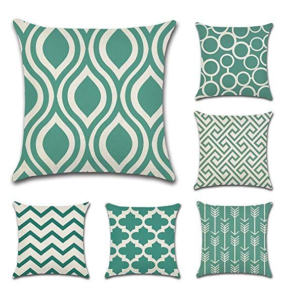 Set Cuscini Divano.Jotom Moderno Semplice Geometrica Super Soft Fodera Per Cuscino