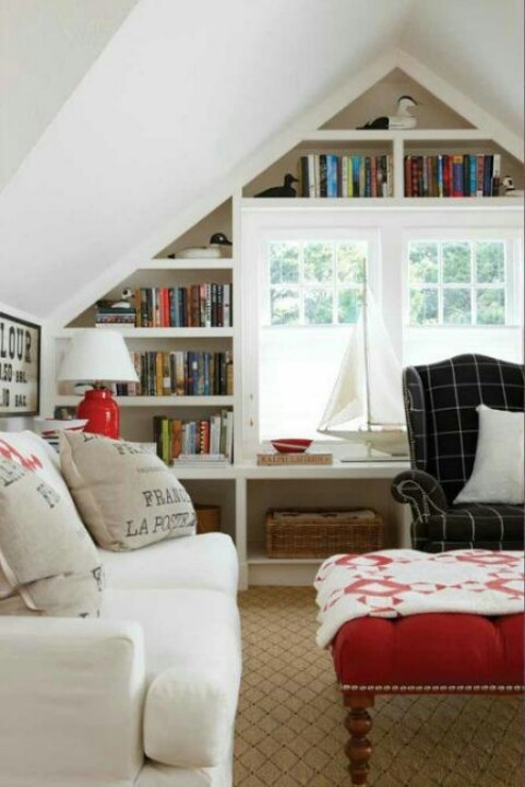 25 best images about cozy attics on pinterest guest for Cozy reading room design ideas