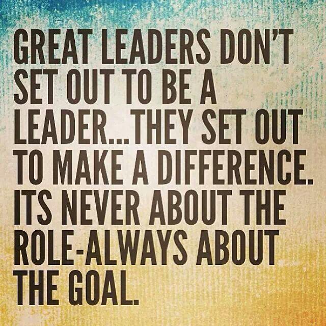 The goal..