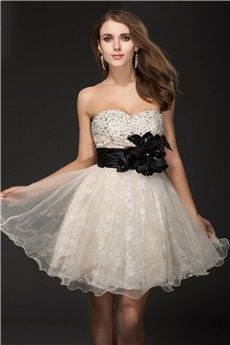 Ball Gown Sweetheart #Short/Mini #homecoming #dresses #2016
