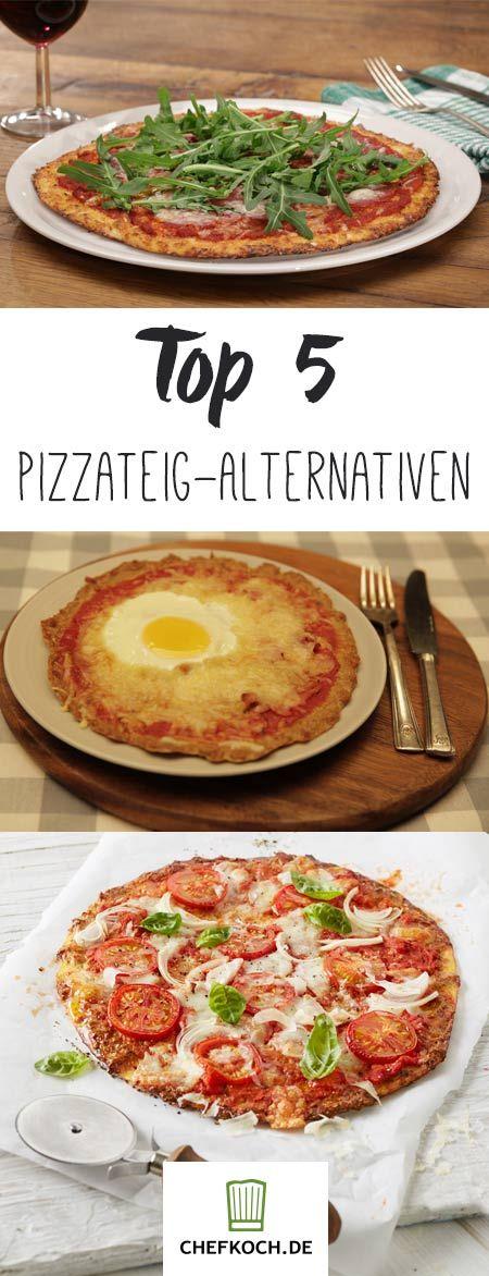 Top 5 Pizzateig-Alternativen