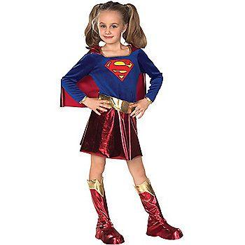 Childs Supergirl Costume | Girls Superman Costumes