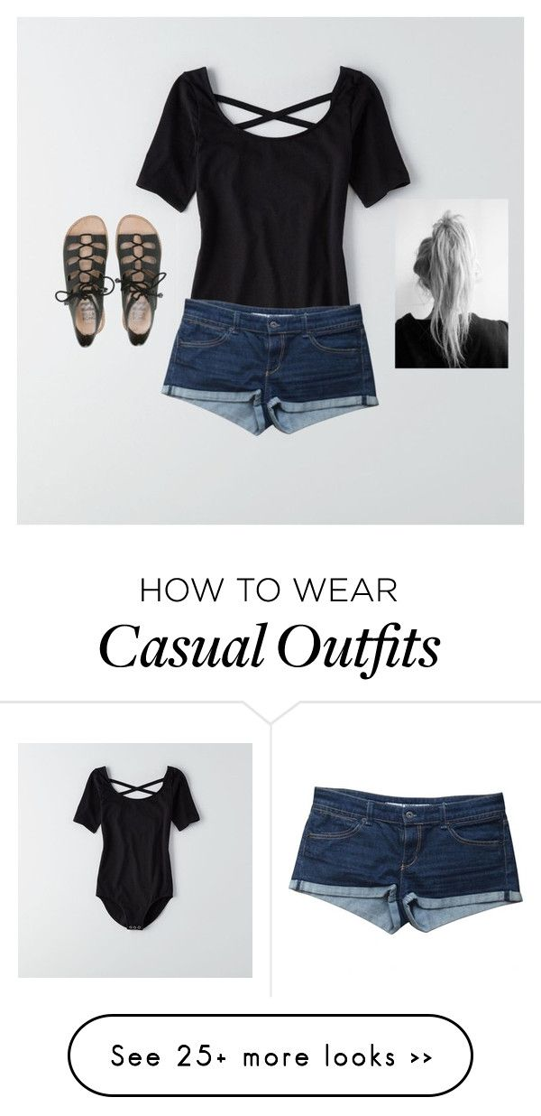 """Casual summer"" by katemase23 on Polyvore featuring American Eagle Outfitters, Topshop and Billabong"