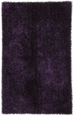 jaipur rugs flux collection shag area rug in tulip purple