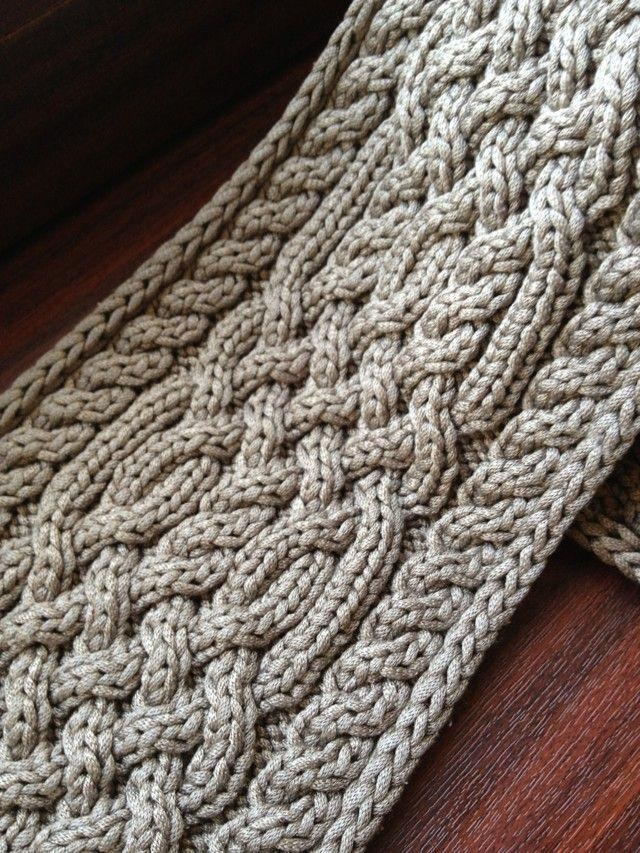 Пряжа: Schulana Fashion Silk, 4 клубка. Спицы: №6. Размер: примерно 12х150см. Нарисовано преимущественно здесь , в качестве напильника использован пейнтбраш. Новые клубки…