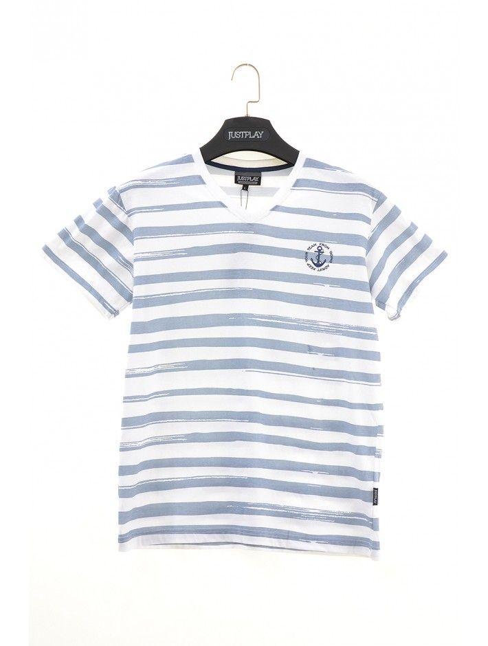 Pánske tričko Keep Team - Pánske tričká s krátkym rukávom - Pánske tričká - Pánske oblečenie - JUSTPLAY