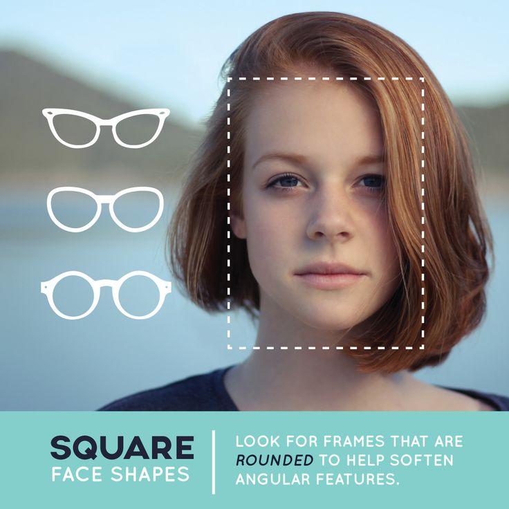 Square Face Shape: 100+ Best Choosing Perfect Eyeglasses Images On Pinterest