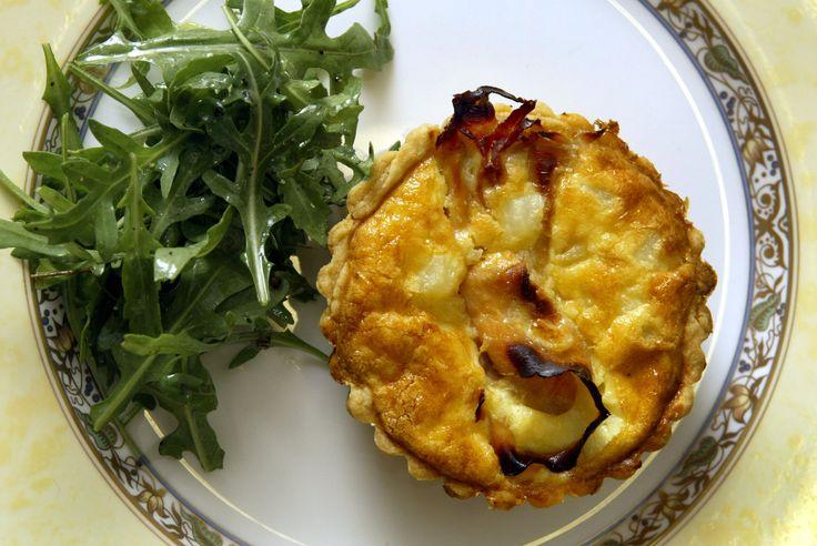 Ham and potato quiche | Recipe