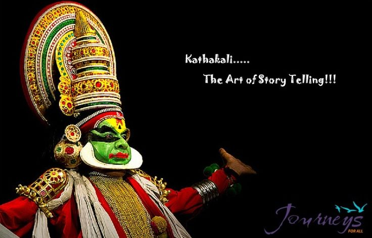 Experience probably the most fascinating traditional performing art form in India's rich cultural pageant #Kathakali #JFA.