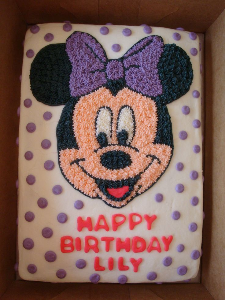 Cake Decorating Ideas Minnie Mouse : 25+ best ideas about Minnie mouse cake decorations on ...