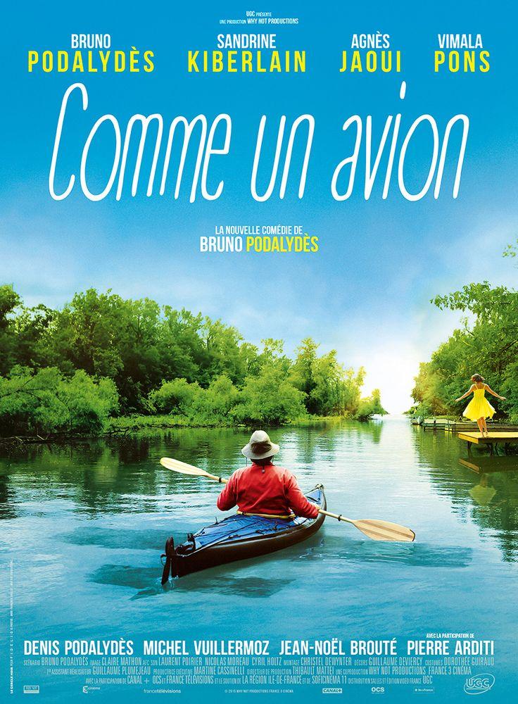 Comme un avion est un film de Bruno Podalydès avec Bruno Podalydès, Agnès Jaoui. Synopsis : Michel, la cinquantaine, est infographiste. Passionné par l'aéropostale, il se rêve en Jean Mermoz quand il prend son scooter. Et pourtant, lui‐même n