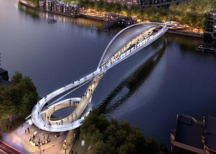 """Reader comment: """"It is like they were thinking about designing a motorway bridge"""" http://www.dezeen.com/2015/02/25/74-designs-unveiled-bridge-london-river-thames/…"""