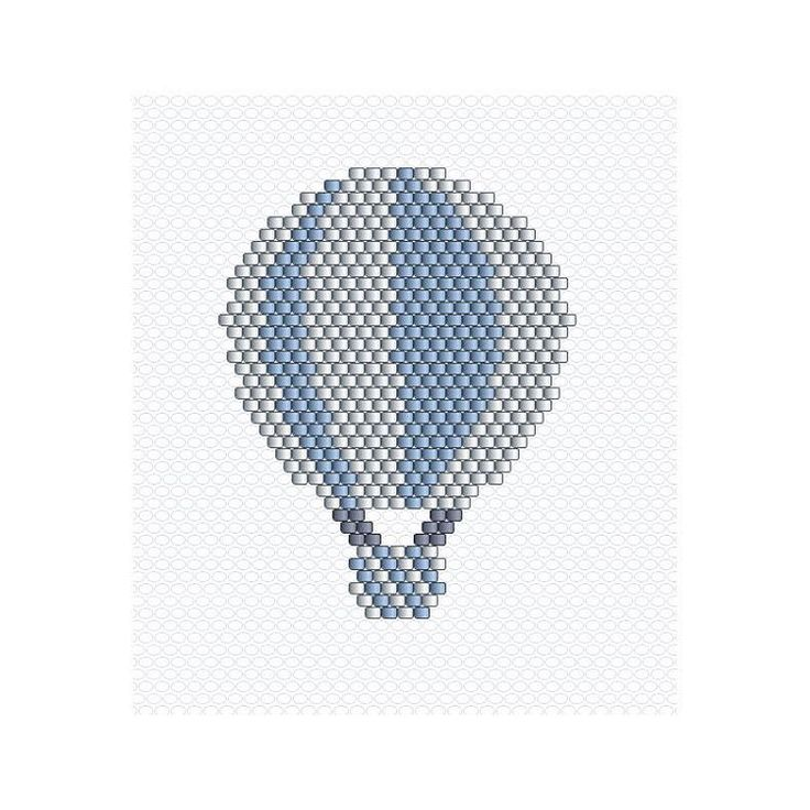 Aujourd'hui je vous aime et je vous partage encore une montgolfière parce que franchement il manquait une couleur #miyuki #miyukidelica #perlesmiyuki #pastel #blue #montgolfière #Intheair #jenfiledesperlesetjassume #jenfiledesperlesetjaimeca #motifcharlottesouchet Charlotte Souchet ©