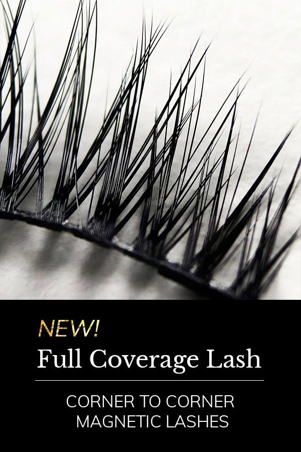 You Asked, We Listened! Experience Our New Corner to Corner Magnetic Lash, A Game Changing Invention That Gives You Long Gorgeous Lashes In Seconds!