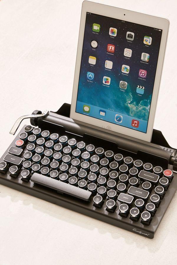 704a79926bb Qwerkywriter Wireless Typewriter Keyboard | Cool stuff | Tech gifts ...