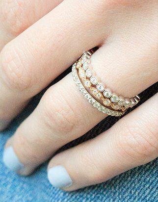 c7df5eb963ed Stacked diamond eternity rings  DiamondEternityRings