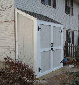 lean to storage shed kits - Google Search
