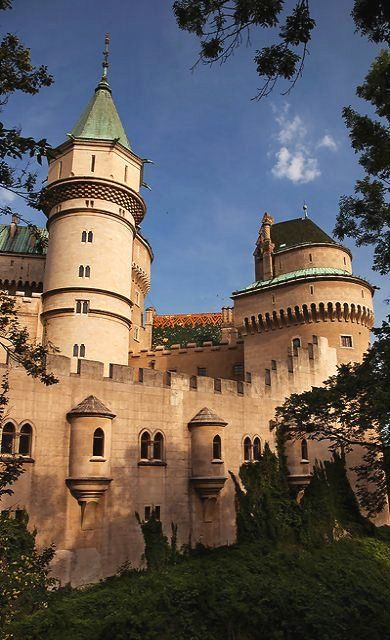Gothic Castle in Bojnice, Trenčin region, Slovakia | by Ed.Moskalenko