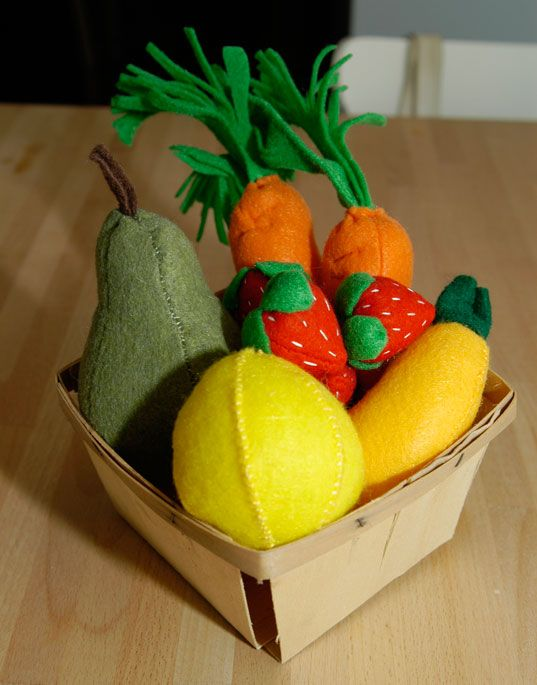 How To Make Felt Food: Our Gigantic List of Tutorials