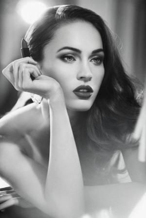 The only picture I love of Megan Fox, very sophisticated looking