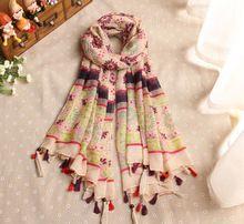Mix tasarım sipariş moda polka çiçek viskon çiçek şal püsküller uzun müslüman düz şal atkılar/eşarp 10 adet/grup(China (Mainland))