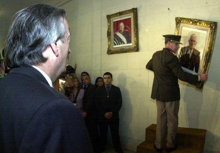 Por orden y convicción política de Nestor Kirchner se bajaron los cuadros, se derogaron las leyes de impunidad e indultos y se inicio un camino de justicia y verdad que nos transformo a los argentinos en ejemplo en el mundo