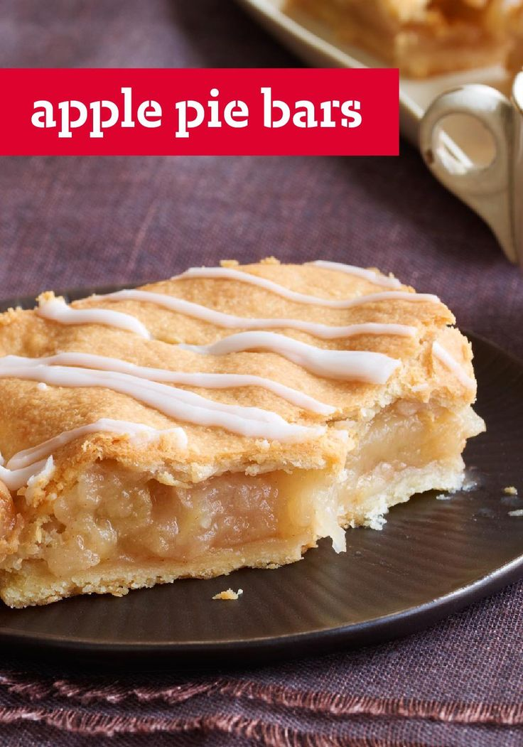 The 25+ best Apple pie bars ideas on Pinterest | Apple pie ...