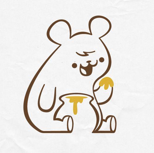 Just a simple bear drawing by skinnyandy, via Flickr